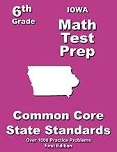 Iowa 6th Grade Math Test Prep: Common Core Learning Standards