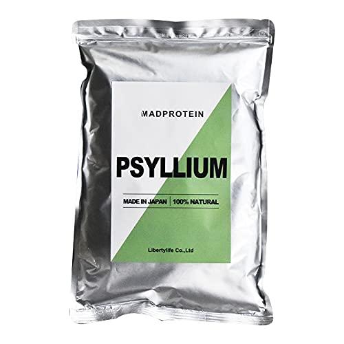 サイリウムハスク末 オオバコ 粉末 パウダー 国内製造 【MADPROTEIN】マッドプロテイン… (500g)