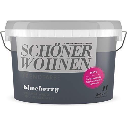 Schöner Wohnen Trendfarbe blueberry Matt 1 Liter
