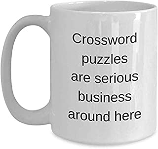 Crossword Puzzle Coffee Mug 11OZ Coffee Mug