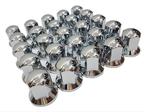 70 x 32 mm plástico tuercas tuercas de rueda cromadas tornillos cubiertas decoración camión