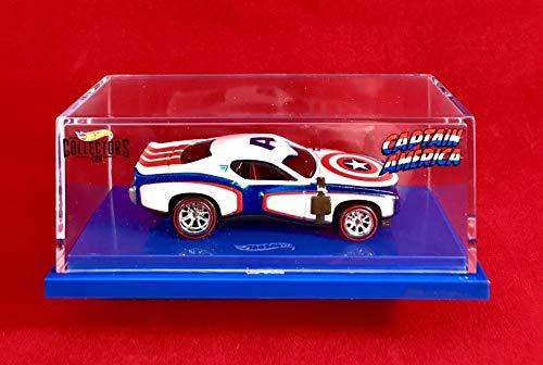 HW Hot Wheels Captain America 75th Anniversary Collectors Car