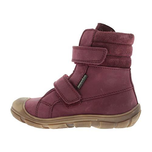 Bundgaard Schuhe für Mädchen Stiefel Winterstiefel Solle Velcro Bordeaux BG303034701 (Numeric_30)