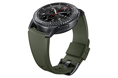 Gear S3 Silicon Band for Gear S3 Classic & Frontier Watch - Khaki Green
