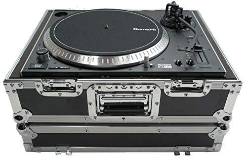 Harmony HC1200BMKII Flight Foam DJ Turntable Custom Case Compatible with Numark NTX1000
