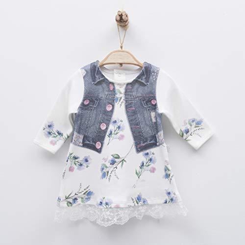 Sevira Kids - Robe bébé en coton biologique, Juliette