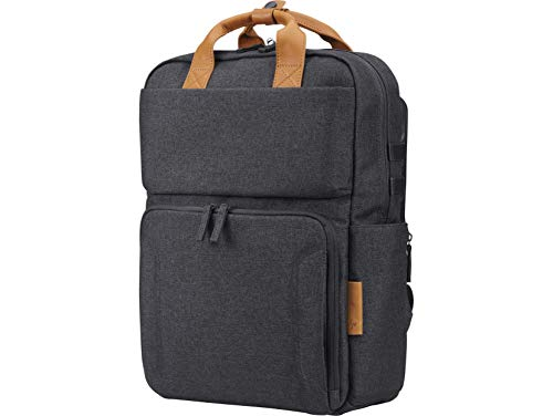HP Envy Urban Grey Backpack with RFID, Water Proof Cover, for Up to 15.6 Inch (39.6 cm) Laptop/Chromebook/Mac