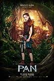 PAN – Rooney Mara - Film Poster Plakat Drucken Bild -