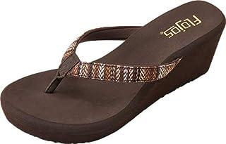 Flojos Women's Olivia Serape Wedge Sandal