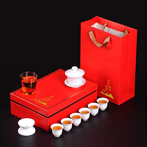 Gao Bai Kungfu tea set portable gift box travel business company activities open-Style
