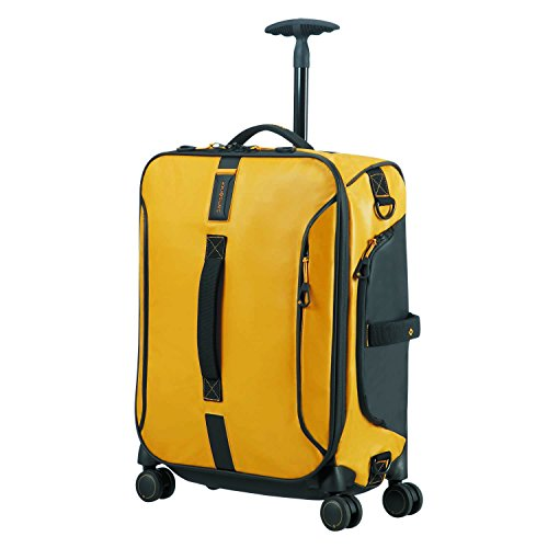 SAMSONITE Paradiver Light - Spinner Duffle Bag 55/20 Bolsa de viaje, 55 cm, 50 liters, Amarillo (Yellow)