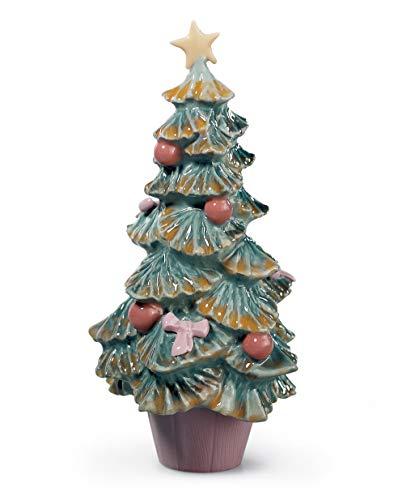 LLADRÓ Figurina Albero di Natale. Figurina Albero di Natale di Porcellana.