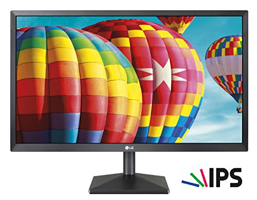 LG 24MK430H Monitor per PC, 23.8', LED IPS FULL HD (1920x1080), 5 ms, Radeon FreeSync 75 Hz, Multitasking, VGA, HDMI