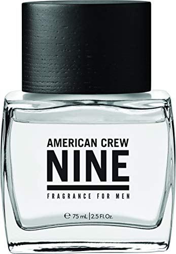 AMERICAN CREW Nine Fragrance Parfum Eau de Toilette pour Homme, 75ml
