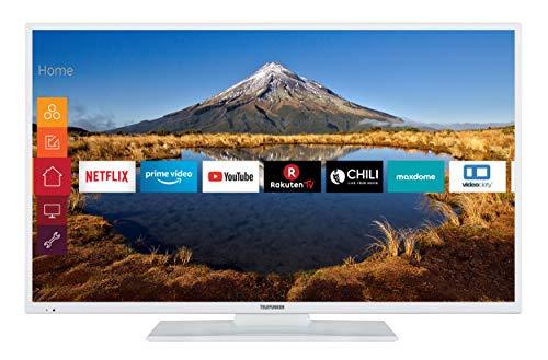 Telefunken XF49G511-W 124 cm (49 Zoll) Fernseher (Full HD, Triple-Tuner, Smart TV, Prime Video)