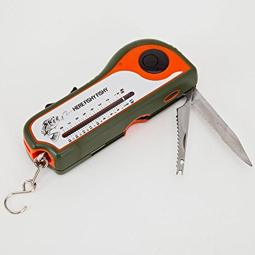 Bits and Pieces - Deluxe 8-in-1 Fishing Tool - Multifunction Gadget for Hunters and Fishers
