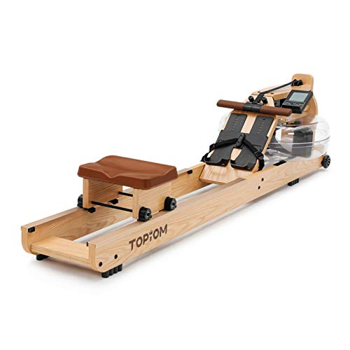 MorNon Wooden Indoor Rowing Machine