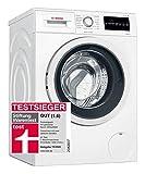 Bosch WAG28400 Serie 6 - Carga frontal para lavadora (A++++, 196 kWh/año, 1400 rpm, 8 kg, función de recarga), color blanco
