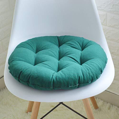 FKIHK SitzkissenHandgemachte Stuhlkissen Kissen Dicker weiche runde Baumwolle Kreis Bunte Home Decor Bodenmatte, 156652, S