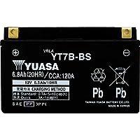 台湾製 バイクバッテリー 国内液入 初期補充電済 YUASA 純正互換品 (YT7B-BS / GT7B-BS / FT7B-BS 互換)