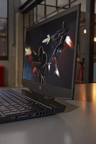 HP Omen 9th Gen Intel Core i7 Processor 15.6-inch FHD Gaming Laptop (16GB/1TB HDD + 512GB SSD/Windows 10/NVIDIA GTX 1650 4GB /Shadow Black), 15-dh0135TX