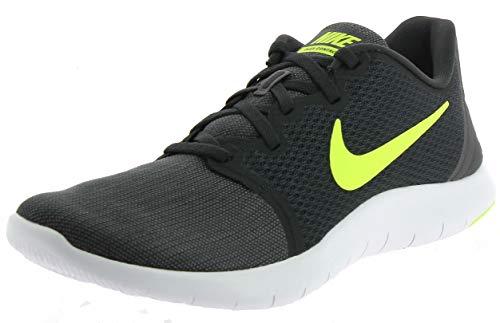 Nike Flex Contact 2, Zapatillas de Deporte para Hombre, Multicolor (Anthracite/Volt/Wolf Grey/Dark Grey 001), 44 EU