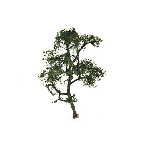 Deanyi 3,54 Inch (9cm) Landschaft Landschaftsmodell der Platane-Baum-Landschaft Produkte Sand Tabelle Modell-Struktur