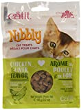Catit Nibbly Cat Treats-Chicken & Liver Flavour-90 G (3.2 Oz), 1 Pouch