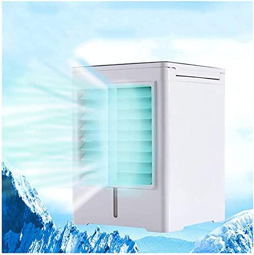 XXF-Shop Condizionatore Portatile Ventilatori di Raffreddamento della Camera da Letto silenziosi per Le stanze Torre Fan di Raffreddamento Silenzioso L'Ufficio