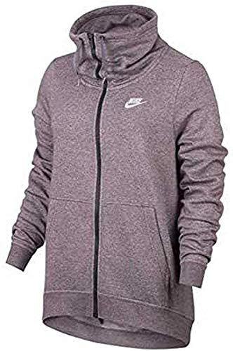 Nike Damen W Nsw Fnl Fz Club Fitness-Sweatshirt Kapuzenjacke, Rosa (rosa elemental), M