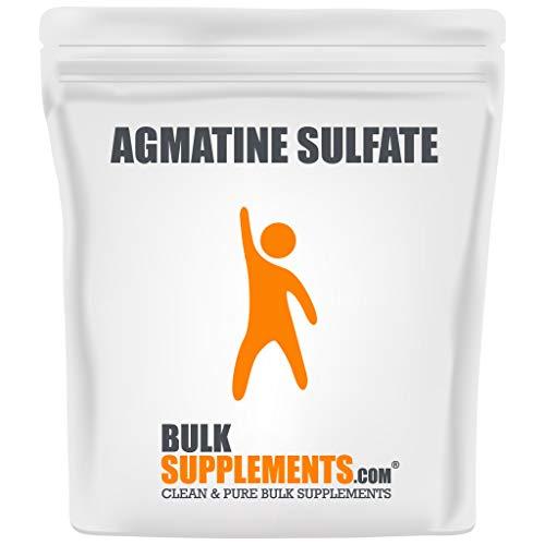 BulkSupplements Agmatine Sulfate Powder (100 Grams) 133 Servings