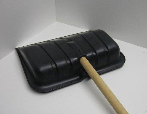 Schneeschaufel, Schneeschieber Lawinenschaufel Schaufel mit Stahlkante - 4