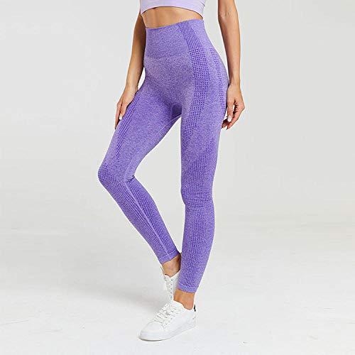 Leggings Deportivos Para Mujer Medias Para Mujer Pantalones De Yoga Morados Xl Piernas Deportivas Leggings Sin Costuras Para Mujer Medias De Leggings Mujer Leggins Mujer Deporte
