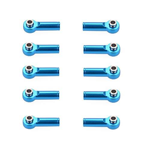 Sylvialuca M4 Metall Krawatte Push Link Gelenkkopf Gelenkkopf Halter für 1/8 & 1/10 RC Truck Buggy Crawler Auto Zubehör 10 stücke