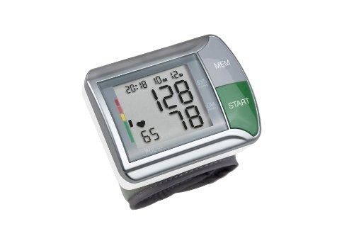Medisana HGN Handgelenk-Blutdruckmessgerät mit Arrhythmie-Anzeige, WHO-Ampel-Farbskala - für eine präzise Blutdruckmessung und Pulsmessung mit Speicherfunktion - 51067