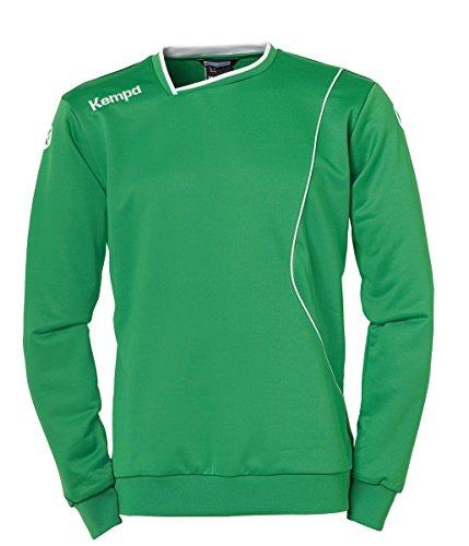 Kempa Herren Curve Training Top Shirt, Grün/Weiß, 164