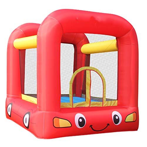 Springkasteel, Kleurenfoto Springkastelen, Bounce Bed Toys, Balloon Trampoline Met Electric Pump And Protective Net, House Garden Voor Binnen En Buiten