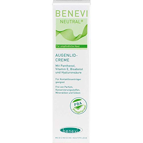 BENEVI NEUTRAL Augenlid-Creme, 15 ml Creme