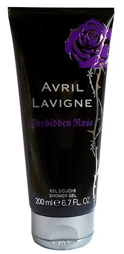 6 x Avril Lavigne Forbidden Rose Shower Gel 200 ml (6x 200 ml)