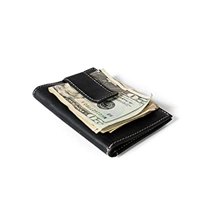 RFID Wallet Vertical Money Clip with ID - Best Quality Leather - Best RFID Blocking Wallet