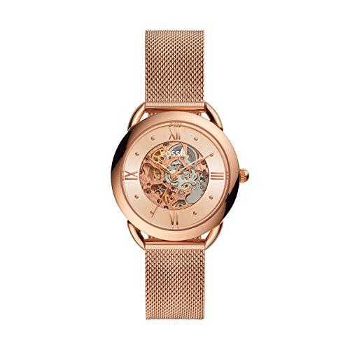 Fossil - Reloj automático de Acero Inoxidable para Mujer ME3165
