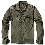 Brandit US Camisa Manga Larga verde oliva L