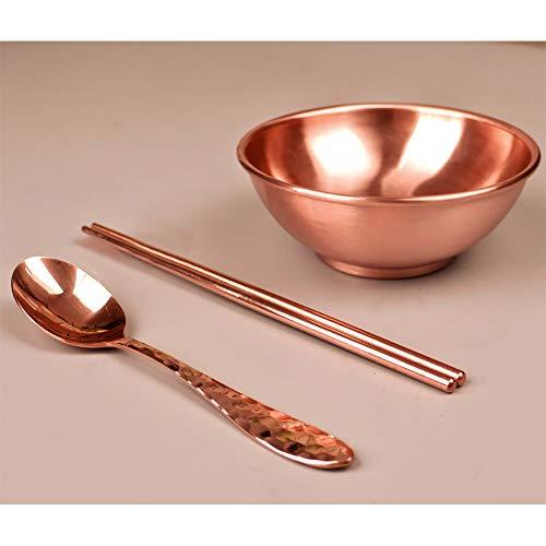 Löffel aus reinem Kupfer, verdicktes Kupfer, Geschirr, Küchenzubehör, Hotelbedarf, Suppenlöffel, Westernspeiselöffel (Schale, Essstäbchenlöffel)