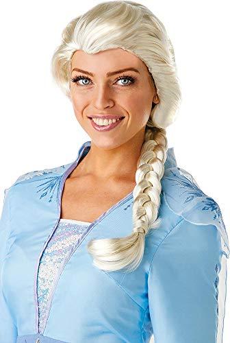 Rubie's Offizielle Disney Frozen 2, Elsa Perücke, Damen-Kostüm-Accessoire, Einheitsgröße