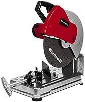Einhell TC-MC 355 - Tronzadora de Metales, Potencia 2300 W, 240 V, color Rojo