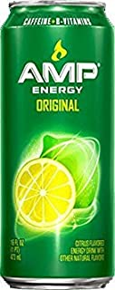 8 Pack - Amp Energy - 16oz.