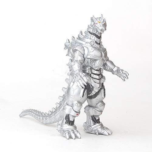 Dinosaurio 2018 Godzilla Monster Monster 7 Pulgadas Bestia mecanica Godzilla Mano Muneca Mano Oficina Aberdeen Decoracion-17CM