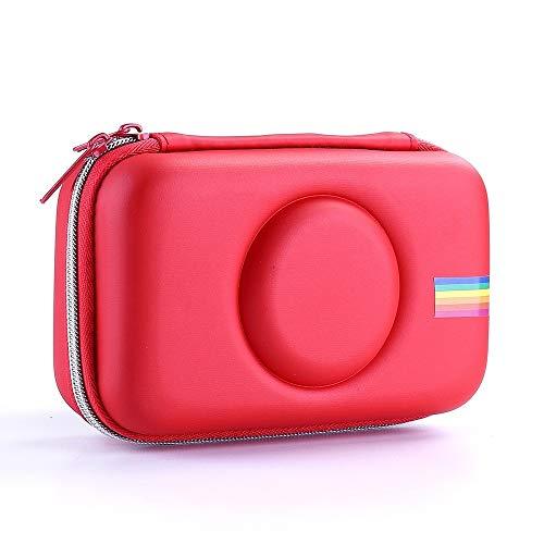 Fundas protectoras para cámara Bolsa de cámara EVA a prueba de golpes Bolsa de almacenamiento para Polaroid Snap Touch (negro) (Color: rojo)