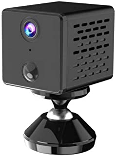 HD Cam Recorder with Audio Reception, Wi-Fi/Hotspot, Low Power Consumption Battery 1500 mAh, Auto Night Vision, Human Body...