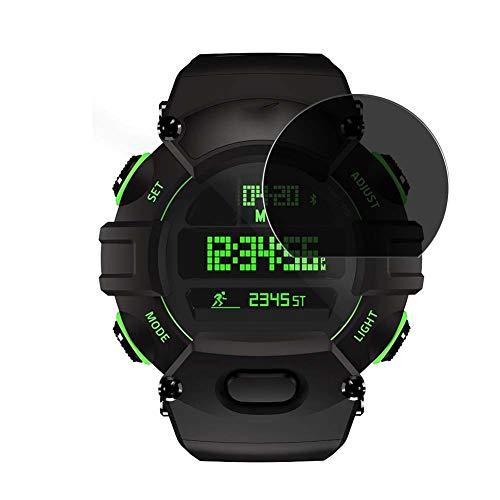 Vaxson Anti Spy Schutzfolie, kompatibel mit Razer Nabu smartwatch Smart Watch, Displayschutzfolie Bildschirmschutz Privatsphäre Schützen [nicht Panzerglas]